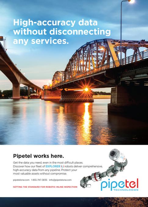 Pipetel Technologies Rebrand Campaign