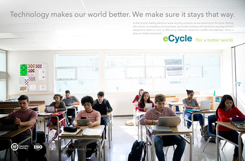 eCycle Rebrand Campaign