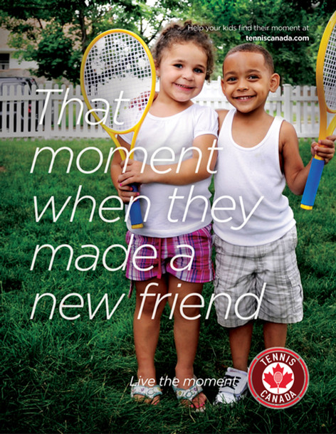 Tennis Canada Program Campaign