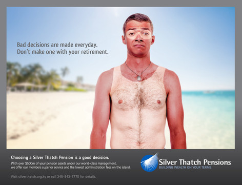 Silver Thatch Pensions Product Campaign