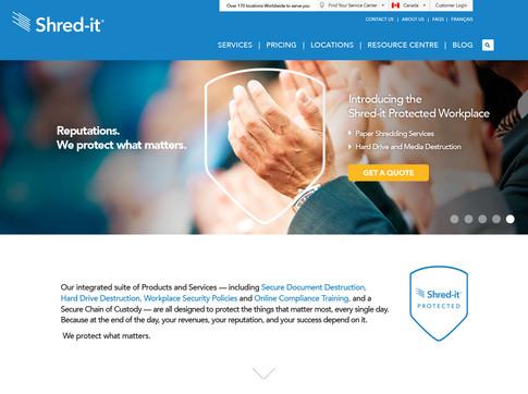 Shred-it Rebrand Campaign