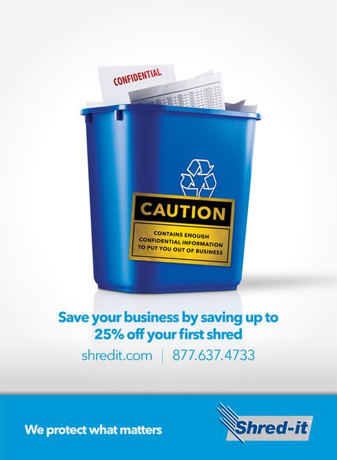 Shred-it Brand Demand Campaign