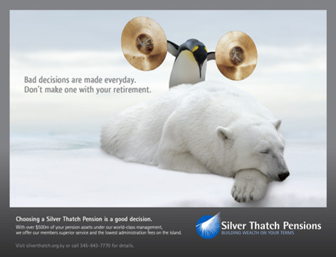 Silver Thatch Pensions Product Campaign Camapign
