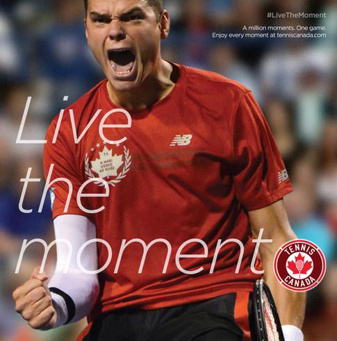 Tennis Canada Brand Campaign