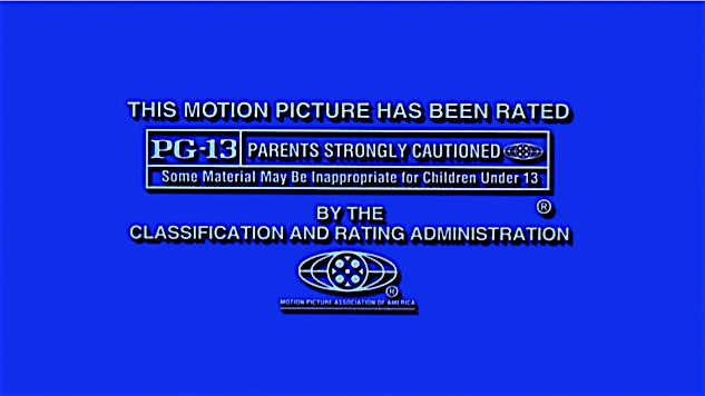 PG - 13 rating started by Director Steven Spielberg