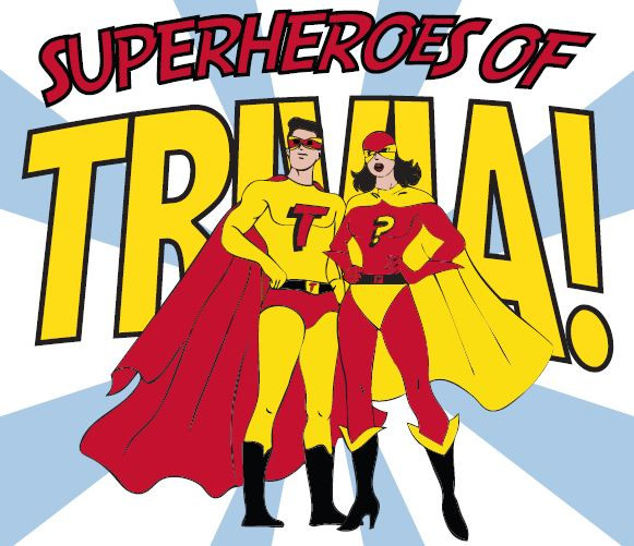 Superheroes of Trivia! Did you win a FREE book of Zenobia - Challenging a Legend? Book two in our YA