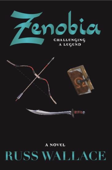 It's book two, Zenobia - Challenging a Legend cover reveal today. Drum Roll Please....