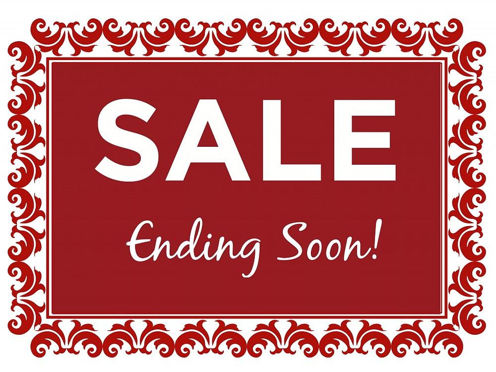 Sale Ending Soon!