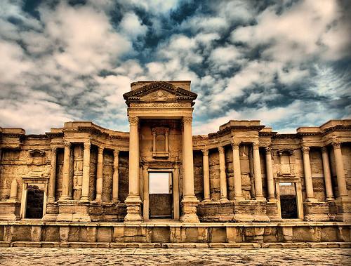 Tadmor ancient city now Palmyra, Syria