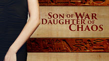 """""""Son of War, Daughter of Chaos"""" by Janette Rallison -  Egypt, love, family, adventure, and a Princes"""