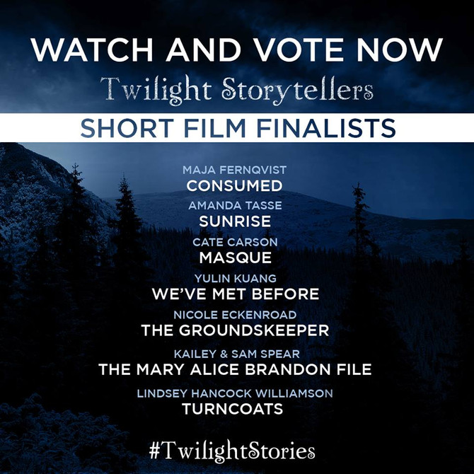 Support Women in Film. Vote for your favorite Twilightstories now!