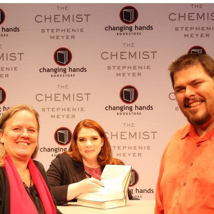 "Stehenie Meyer, author of ""The Chemist"""