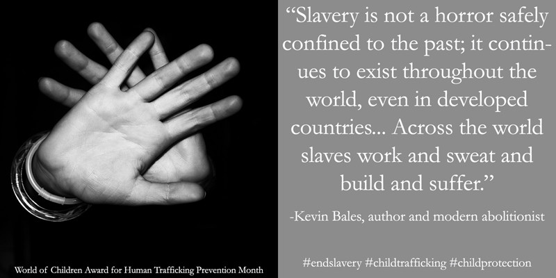 Human Trafficking Prevention Month