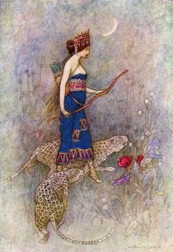 Zenobia by Warwick Goble