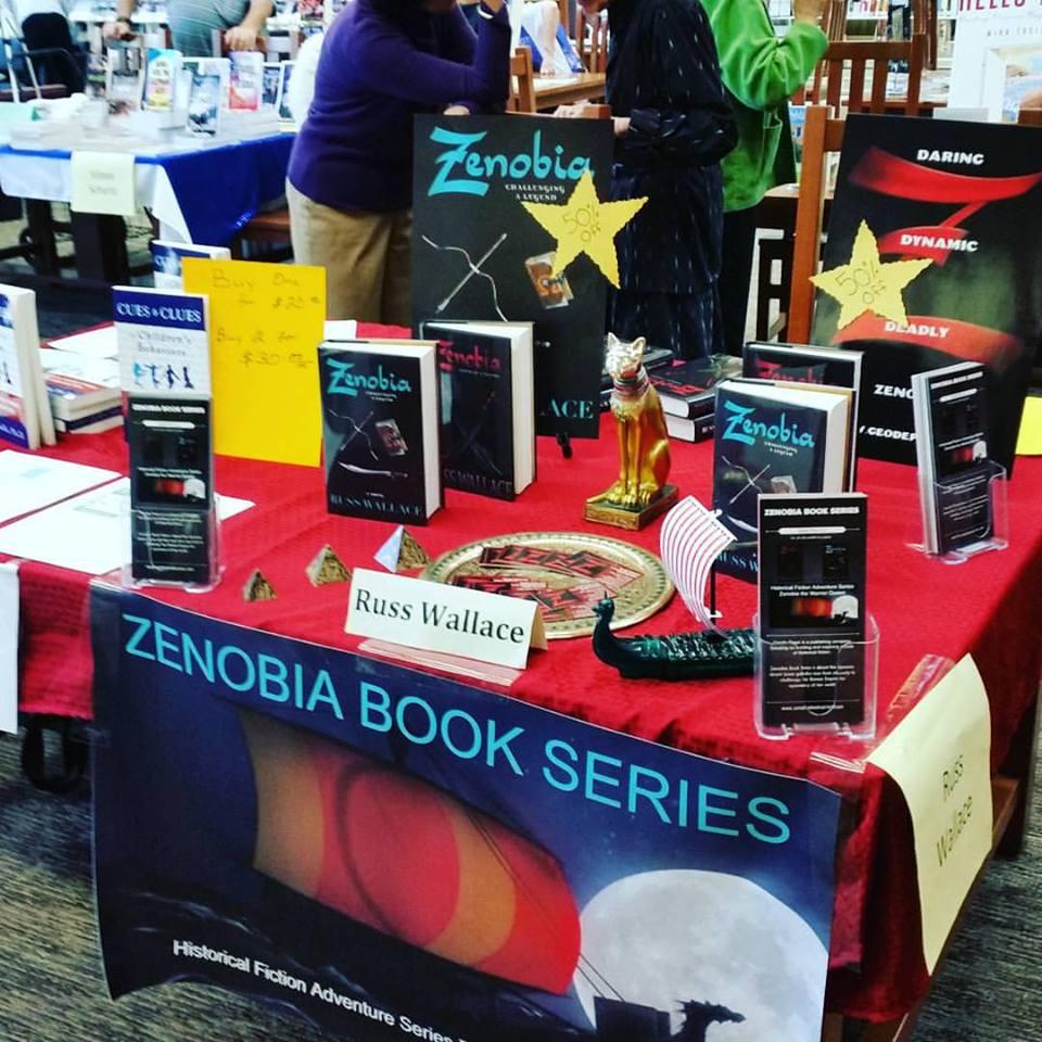 Zenobia Book Series booth