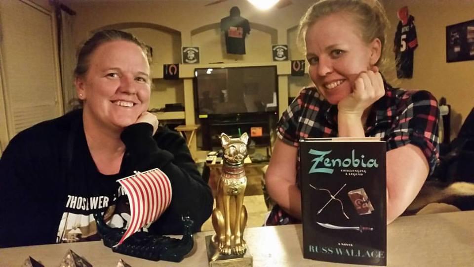 Zenobia book launch party