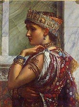 Sir_Edward_Poynter,_Zenobia_Captive_1878