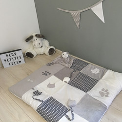 tapis d'eveil chat