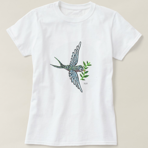 Peace Bird Womens' T-shirt