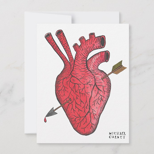 Real Love Flat Notecard