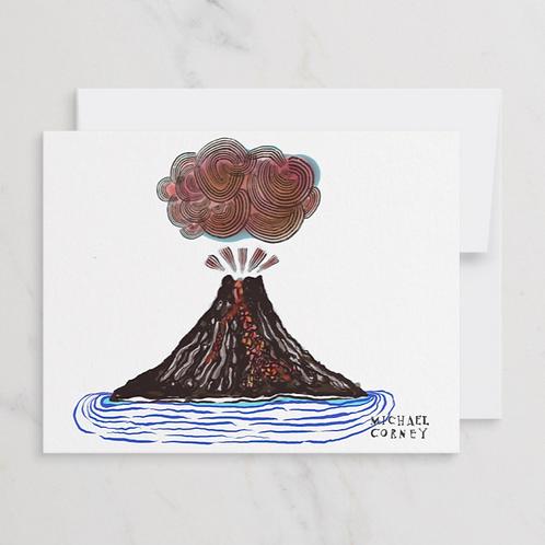 Let it Blow Flat Notecard