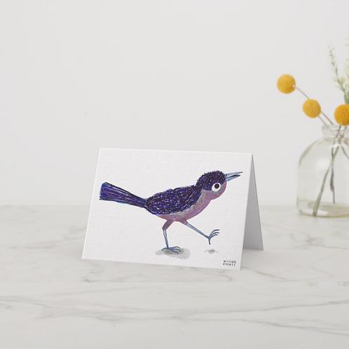 Blue Bird Notecard