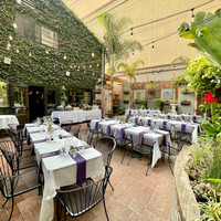 Private Event in Courtyard