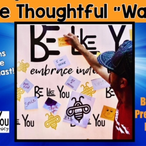 """San Diego Bee Thoughtful """"Wall"""" Event"""