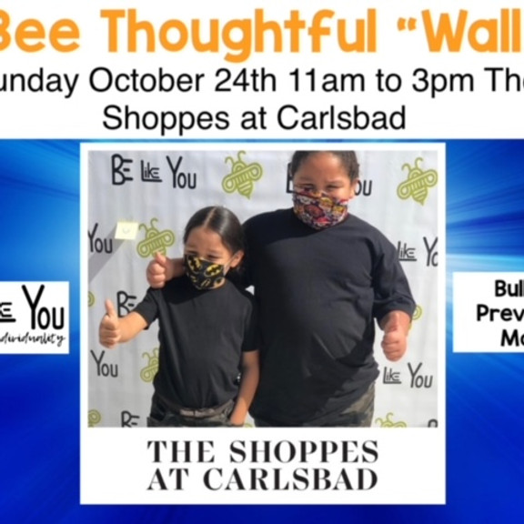 Carlsbad Bee Thoughtful 'Wall' Event