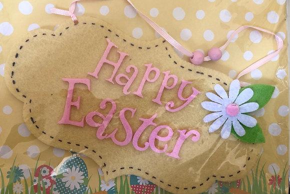 Happy Easter Felt Decoration