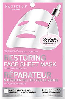 DANIELLE Restoring Face Sheet Mask