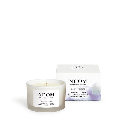 NEOM Sleep Tranquillity Scented Travel Candle