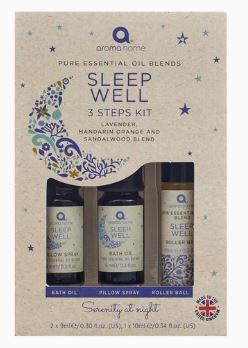 Aroma Home Sleep Well 3 Steps Kit