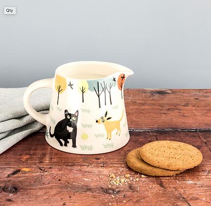 Hannah Turner - Handmade Ceramic Dog Milk Jug