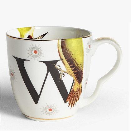 Alphabet Mug - W
