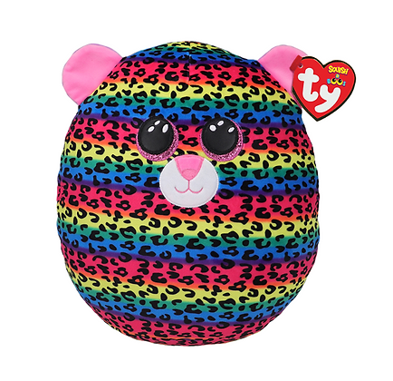 TY Dotty Leopard - Squish-A-Boo