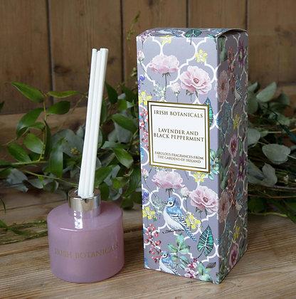 Irish Botanicals Lavender and Black Peppermint diffuser