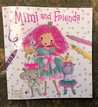 DEPESCHE Mimi And Friends Colouring Book
