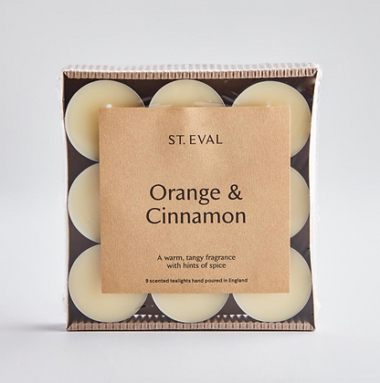 Cinnamon and Orange Tealights