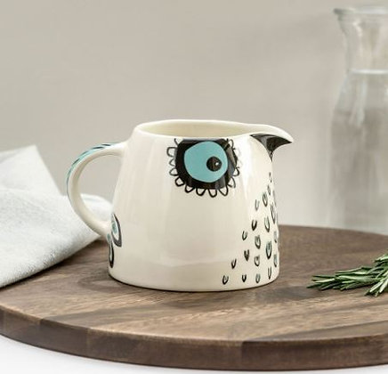 Hannah Turner Owl Milk Jug