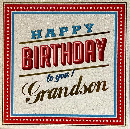 TRACKS Happy Birthday To You Grandson