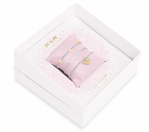 Mum In A Million, trio bracelet