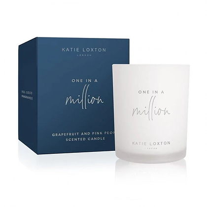 KATIE LOXTION One In a Million Scented Candle Grapefruit & Pink Peony