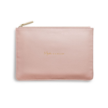 KATIE LOXTON PERFECT POUCH MUM IN A MILLION in PINK