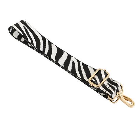 Zebra Print Strap