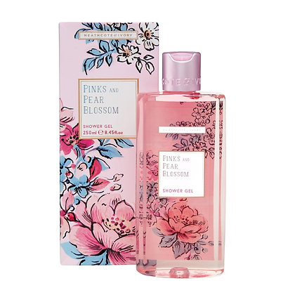 HEATHCOTE & IVORY Pinks And Blossom Shower Gel