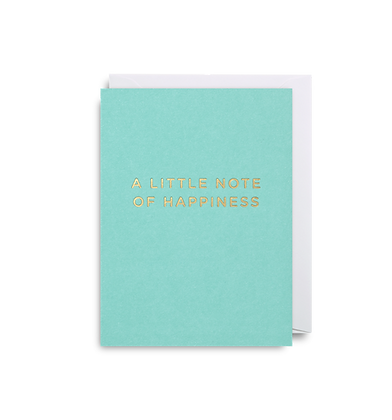 LAGOM A Little Note of Happiness Mini Card