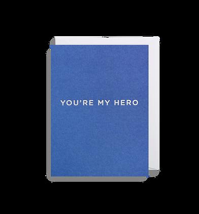 LAGOM Your My Hero Mini Card