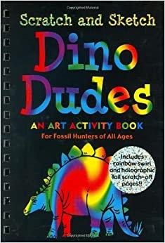 Dino Dude Art Activity Book