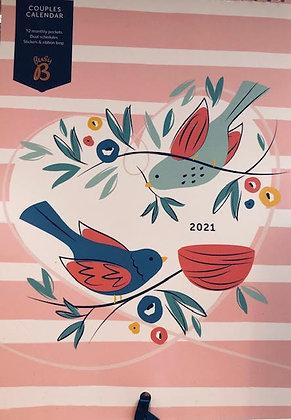 Busy B Couples Calendar 2021